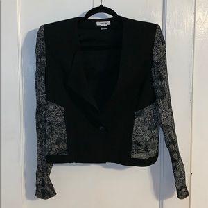 Helmut Lang black blazer size 6